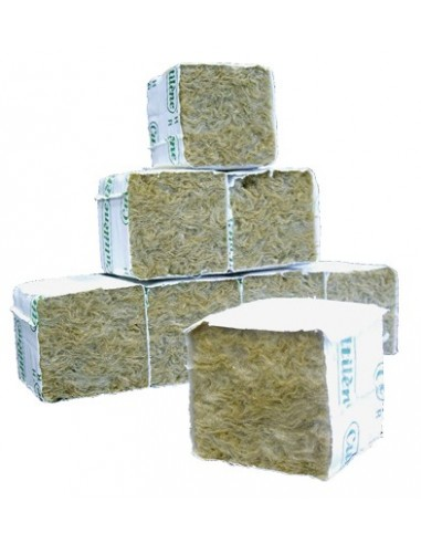 Taco de lana de roca 5cmX5cmX5cm